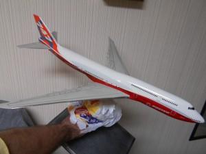 747-8 Orange-Plane-0113-Pencil