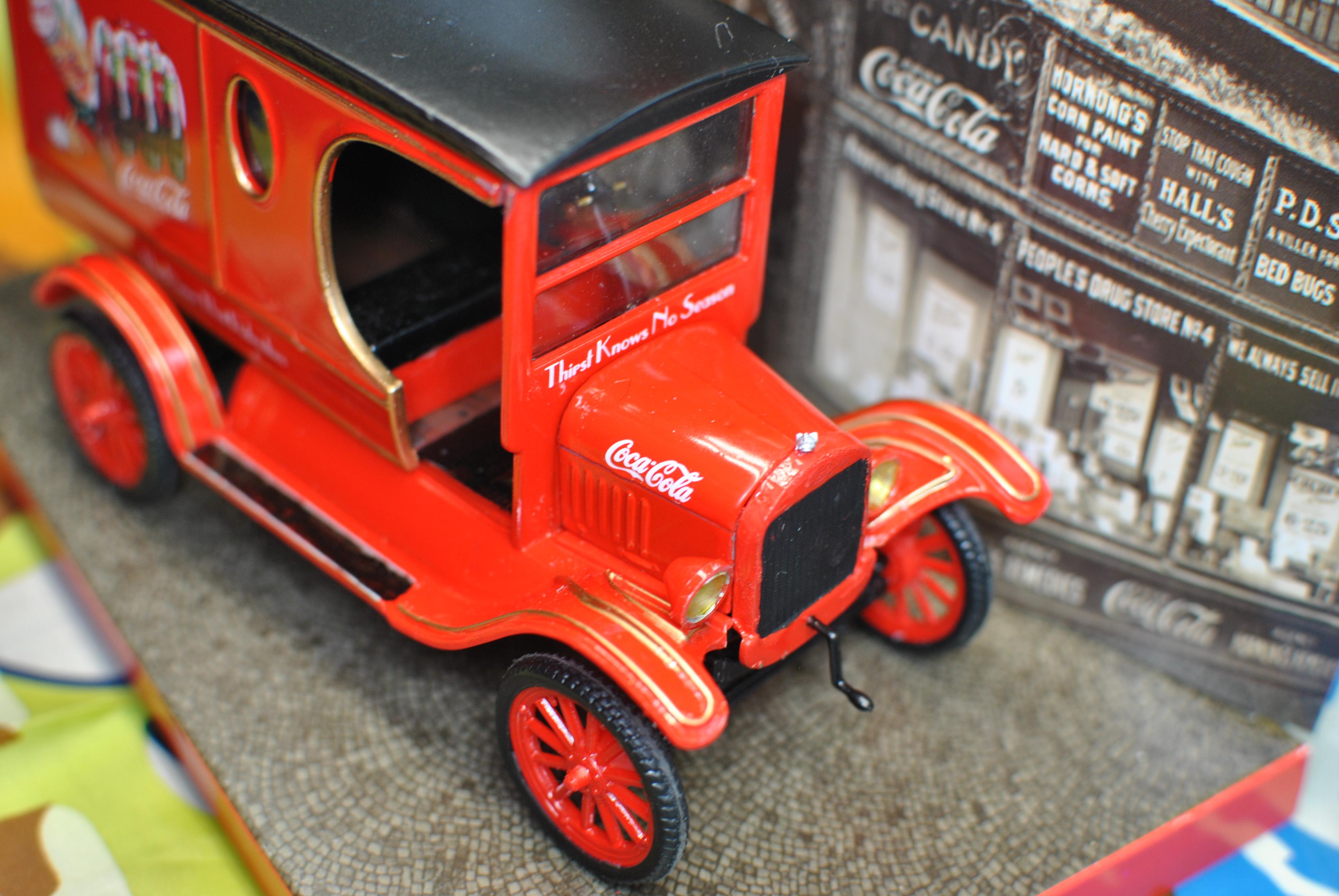 AMT 1/24 Ford Model T Coca Cola Delivery Truck – IPMS Model Talk