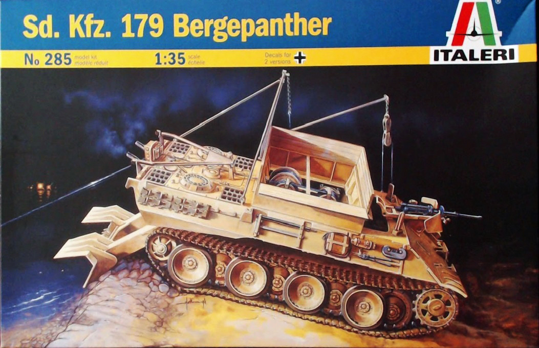 Sd Kfz 179 Bergepanther Recovery Vehicle - Armor - Reviews